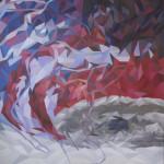《风暴 右》布面油画180x150cm 2014