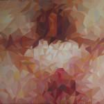 《记忆之外二 2》布面油画60x50cm 2014