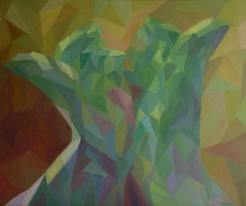 《记忆之外二 4》布面油画60x50cm 2014