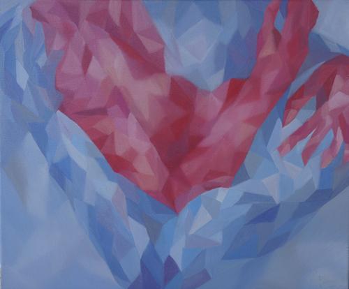 《记忆之外二3》布面油画60x50cm 2014