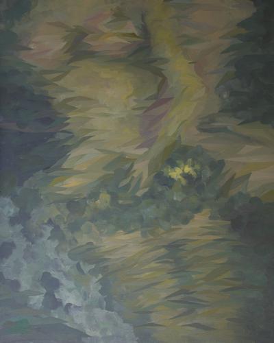 《记忆之外一7》布面油画100x80cm 2014