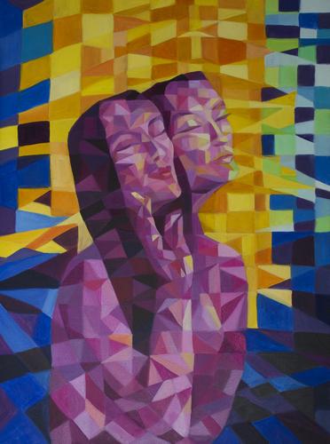 《娟》布面油画60x80cm 2014