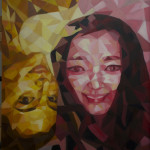 《奻》布面油画60x80cm 2014