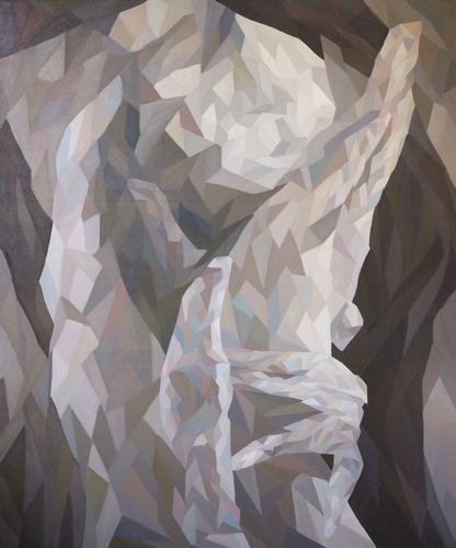 《幸福的诺言》布面油画180x150cm 2014