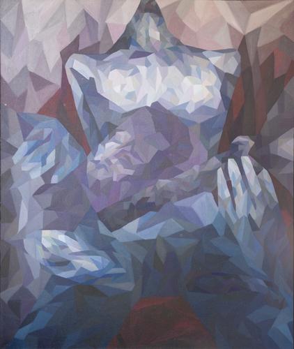 《赞美耶和华》布面油画180x150cm 2014