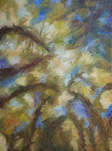 《光的利爪》布面油画120x90cm 2014
